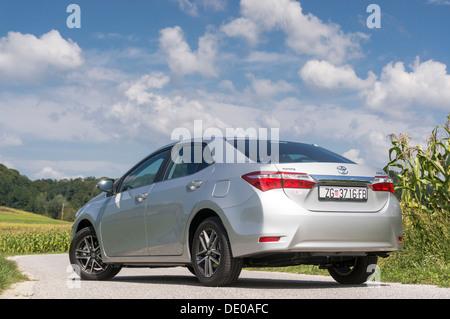 Toyota Corolla 2013., 11. Generation das meistverkaufte Auto der Welt - Stockfoto