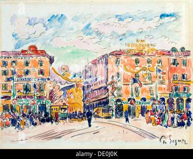 """Stadtplatz"", c1925.  Künstler: Paul Signac - Stockfoto"
