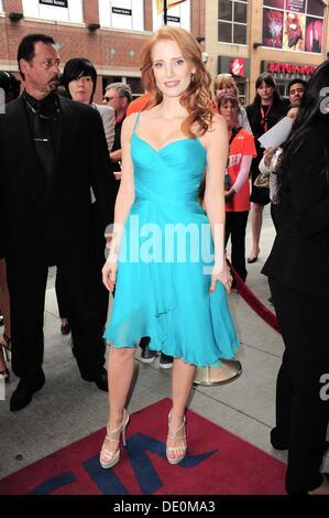 Toronto, Kanada. 9. September 2013. Jessica Chastain im Ankunftsbereich für das Verschwinden von ELEANOR RIGBY: - Stockfoto