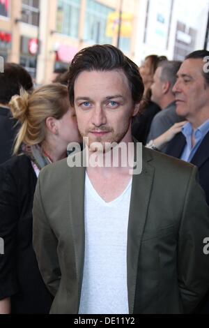 Toronto, Kanada. 9. September 2013. Schauspieler James McAvoy besucht die Premiere von 'The verschwinden von Eleanor - Stockfoto