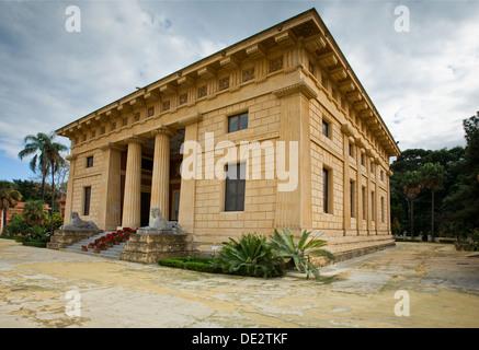 Palermo Botanischer Garten und ein Forschungs- und Bildungseinrichtung der Abteilung für Botanik an der Universität - Stockfoto