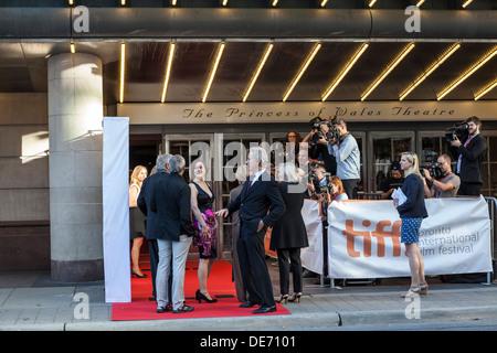 """Stars des Films """"der Big Chill"""" wieder zu vereinigen, anlässlich des 30. Jahrestages des Films 1983 - TIFF-Toronto - Stockfoto"""
