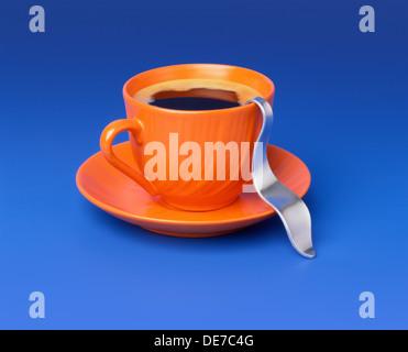 Sehr heißer Kaffee - Stockfoto