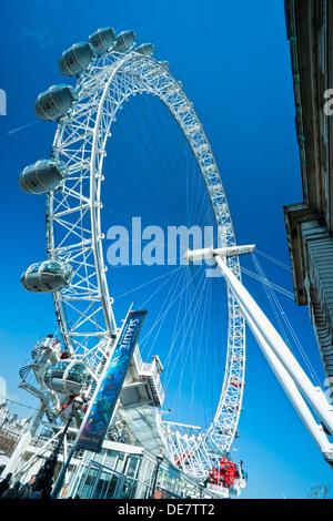 London Eye, London, UK. - Stockfoto