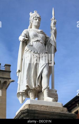 Die Statue of Liberty in San Marino, Europa - Stockfoto