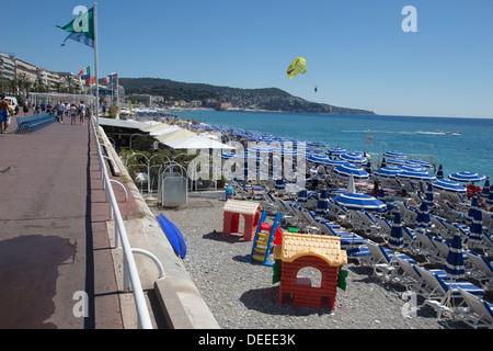 Promenade des Anglais Nizza Cote d ' Azur Alpen Alpes Frankreich Europa - Stockfoto