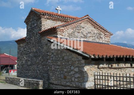Kirche von St. Constantine und Helena Sen aus dem park - Stockfoto