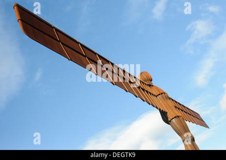 Der Engel des Nordens, Gateshead, Tyne and Wear, von Antony Gormley - Stockfoto
