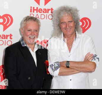 Las Vegas, Nevada. USA. 20. September 2013. Roger Meddows, Brian kann in Anwesenheit für iHeartRadio Music Festival - Stockfoto