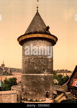 Jeanne d ' Arc Turm, Rouen, Frankreich - Stockfoto