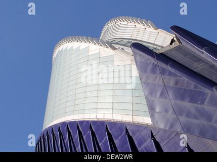 Detail der Agora in der Stadt der Künste und Wissenschaften, Valencia - Stockfoto