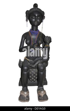 Mutterschaft Figur, Fante, Ghana - Stockfoto