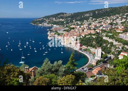 Villefranche-Sur-Mer, Provence-Alpes-Cote d ' Azur, Frankreich, Europa - Stockfoto