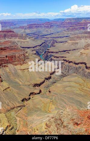 Colorado River in Arizona Grand-Canyon-Nationalpark - Stockfoto