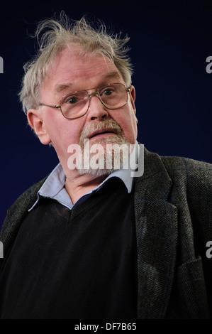 Alasdair Gray, schottischer Schriftsteller und Künstler, Teilnahme an der Edinburgh International Book Festival, - Stockfoto