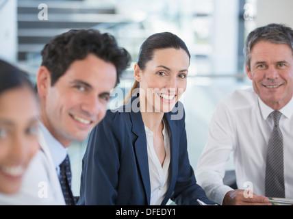 Porträt des Lächelns, Ärzte und Geschäftsleute - Stockfoto