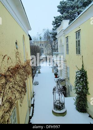 -Winter in Wien (Österreich). - Stockfoto