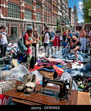 waterlooplein flohmarkt amsterdam niederlande stockfoto bild 56483345 alamy. Black Bedroom Furniture Sets. Home Design Ideas