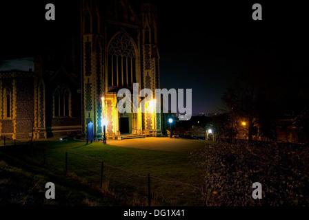 Sacred Heart Church, Edge Hill, Wimbledon. - Stockfoto