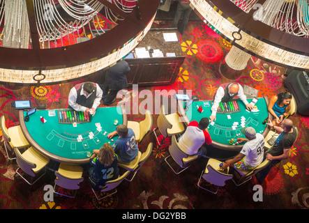 Das Casino von Cosmopolitan Hotel in Las Vegas. - Stockfoto