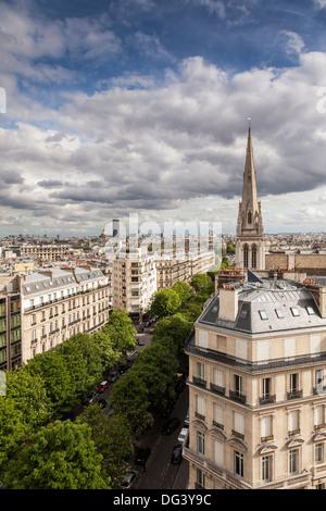 Amerikanische Kathedrale, Paris, Frankreich, Europa - Stockfoto