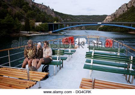Nationalpark Krka, Sibenik. Dalmatien, Kroatien - Stockfoto