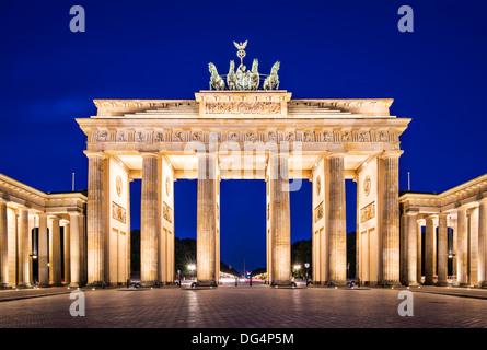 Brandenburger Tor in Berlin, Deutschland. - Stockfoto