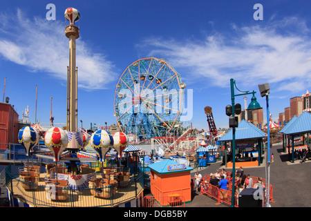 Coney Island Brooklyn NewYork - Stockfoto