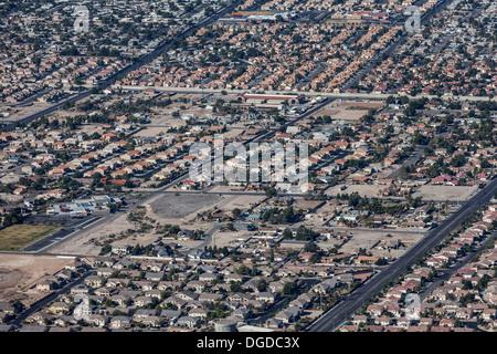 Las Vegas Wohn Zersiedelung. - Stockfoto