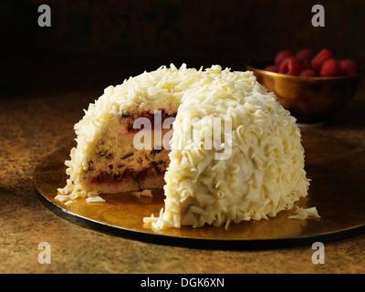 schokolade himbeer dessert stockfoto bild 310514506 alamy. Black Bedroom Furniture Sets. Home Design Ideas