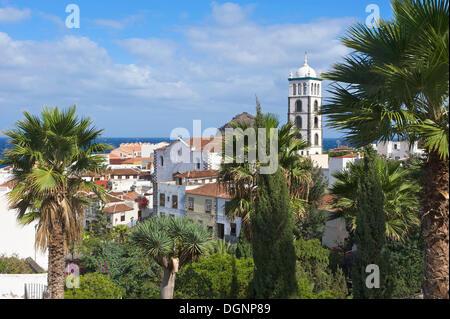 Alte Stadt von Garachico, Teneriffa, Kanarische Inseln, Spanien, Europa - Stockfoto
