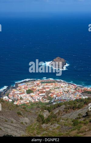Garachico auf der nördlichen Küste von Teneriffa, Kanarische Inseln, Spanien, Europa - Stockfoto