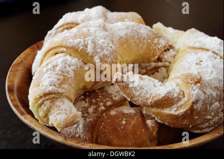 Süßes Gebäck mit Marmelade