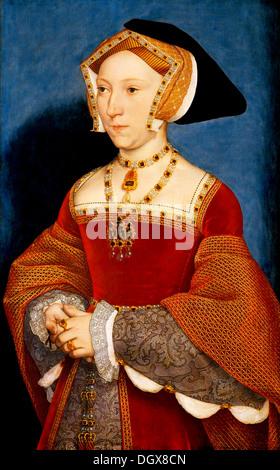 Jane Seymour, Königin von England - von Hans Holbein der jüngere, 1537 - Stockfoto
