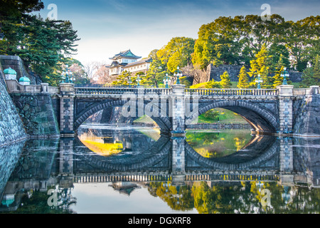 Kaiserpalast von Tokio Japan. - Stockfoto