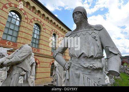Denkmäler, einige zerstört während des zweiten Weltkriegs der Siegesallee, Victory Avenue, Sieg Spalte Berlin gespeichert