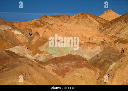 Getönt Felsen des Künstlers und Palette des Künstlers, Death Valley, Death Valley, Death-Valley-Nationalpark, Kalifornien - Stockfoto