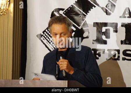 Austin, Texas, USA. 26. Oktober 2013. Regisseur Jonathan Demme am Austin Film Festival 2013 Awards Mittagessen statt - Stockfoto