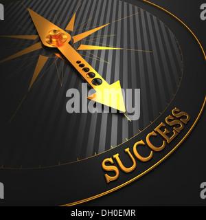 Erfolg. Betriebswirtschaftlicher Hintergrund. - Stockfoto