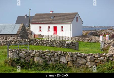 ferienhaus in connemara county galway irland stockfoto bild 141799736 alamy. Black Bedroom Furniture Sets. Home Design Ideas