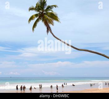 Akurala Strand, Westküste, Südprovinz, Sri Lanka - Stockfoto