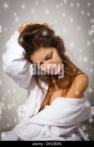 Winter-depression - Stockfoto