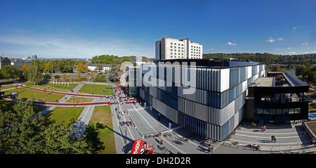 Rhein-Mosel-Halle bauen, Koblenz, Rheinland-Pfalz - Stockfoto