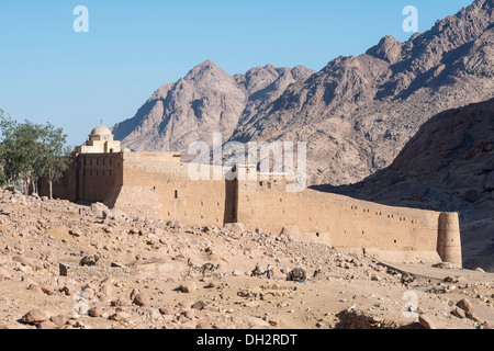 Saint Catherines Kloster am Berg Sinai, Sinai, Ägypten - Stockfoto
