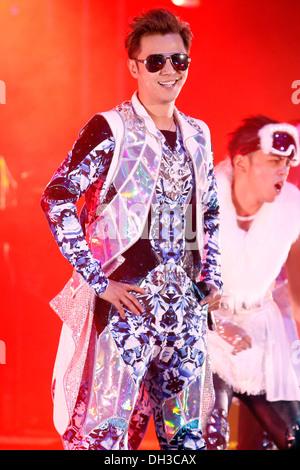 Toronto, Kanada. 26. Oktober 2013. Taiwanische Sängerin Show Luo führt bei Hershey Centre. - Stockfoto