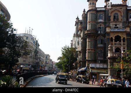 Majestätische Guest House Shahid Bhagat Sing Marg Mumbai Maharashtra Indien Asien Jan 2012 - Stockfoto