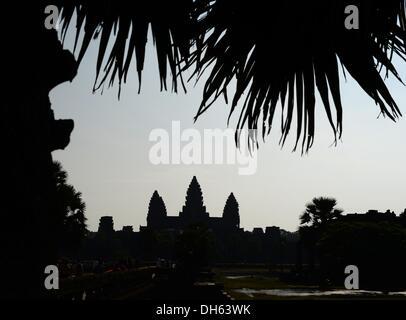 Siem Reap, Kambodscha. 13. Oktober 2013. Die buddhistischen Tempel Komplex Angkor Wat in der Nähe von Siem Reap, - Stockfoto