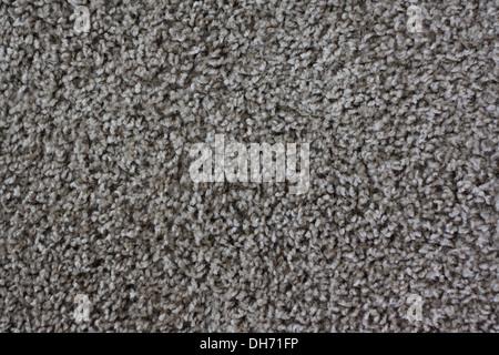 grauer Teppichboden in Nahaufnahme kann als Hintergrund verwendet werden - Stockfoto