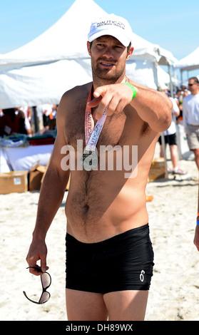 Geoff Stults 5th Annual Nautica South Beach Triathlon zugunsten von St. Jude Children Research Hospital Miami Beach - Stockfoto