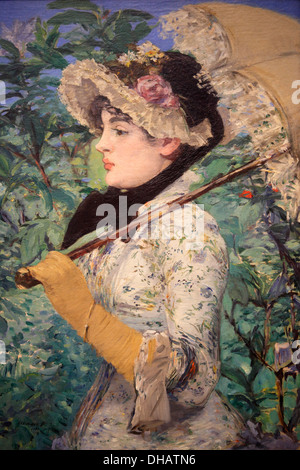 Frühling von Manet, National Gallery of Art, Washington D.C., USA - Stockfoto